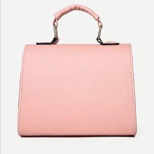 Handbags - Double Buckle Flap Satchel Bag